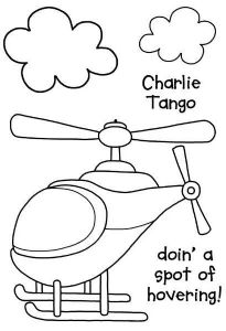 Charlie Tango Clear Woodware Stamp (JGS504)